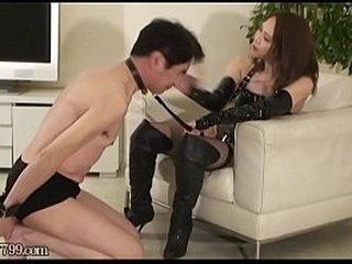 Japanese femdom Haruna Ikoma Returned Masochistic Slave Total Retraining 1