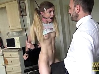 Teen Trussed Up and Destroyed by Master