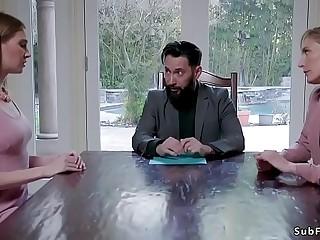 Huge dick lawyer anal bangs step sisters
