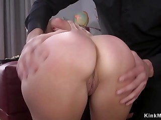 Tax assessor anal banged in bondage