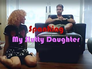 Spanking My Slutty Daughter: A Sneak Peek