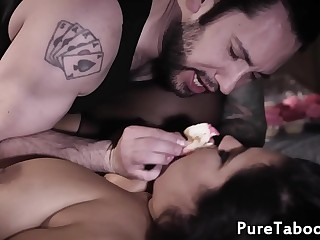 Bbw fed cupcakes while getting screwed