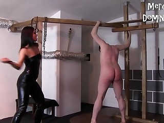 Don'_t Cry Slave  Hard Whipping with Czech Mistress Lady G