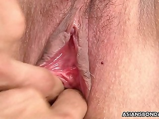 Izumi Tachibana got tied up tight and forced to cum