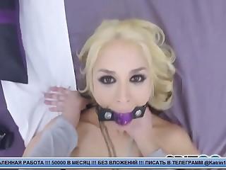 Пацан снимает на камеру секс с грязной блядью