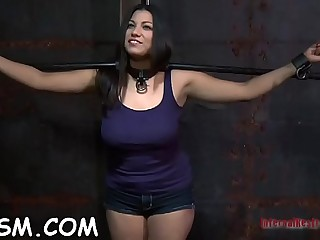 Magnificent floosy is showing her body to the camera