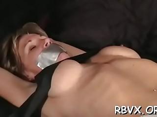 Stupefying diva is about to start masturbating