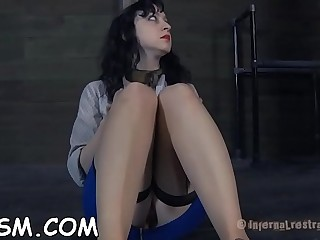 Overwhelming sweetie gets herself off