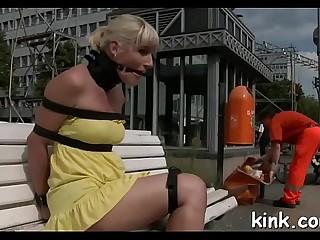 Hot buxomy wonderful lady