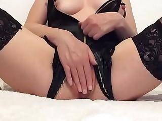 Me masturbating in lingerie solo (Messenge me  48572256840)